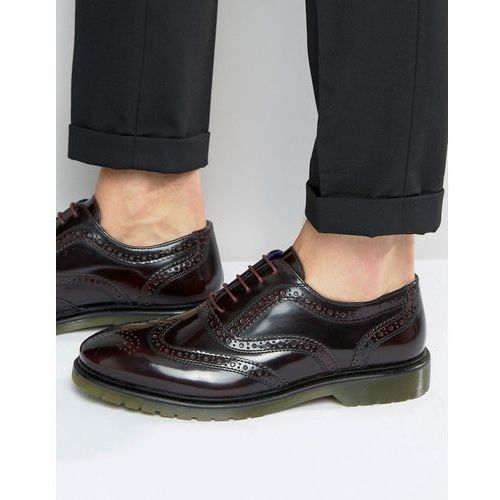 brogues in oxblood - red, Red tape