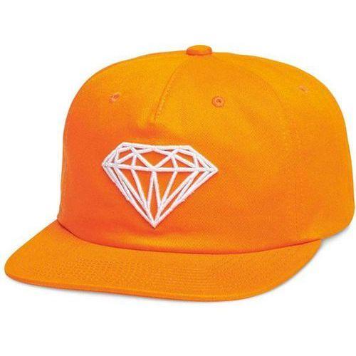 Czapka z daszkiem - brilliant unstructured snapbac orange (org) marki Diamond