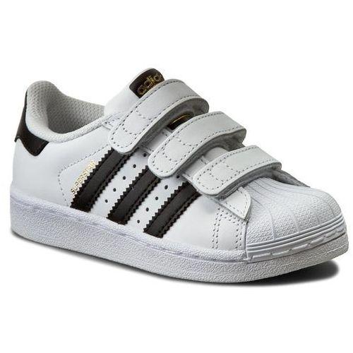 Buty adidas - Superstar Foundation CF C B26070 Ftwwht/Cblack/Ftwwht, kolor biały