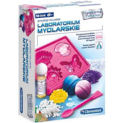 Clementoni Zestaw edukacyjny clemetoni stwórz własne laboratorium mydlarskie