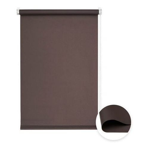 Victoria-m Roleta materiałowa bezinwazyjna, przyciemniająca, gotowa, basic, brązowa, 75x150cm (4250558224397)