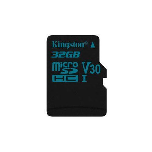 Kingston Karta pamięci canvas go! microsdhc 32gb uhs-i u3 (90r/45w) (sdcg2/32gbsp)