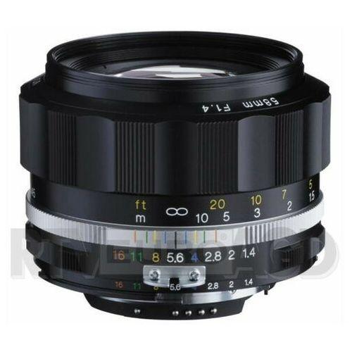 Voigtlander 58mm F/1.4 NOKTON SREBRNY (NIKON F)