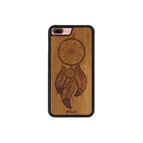 Apple iphone 8 plus - etui na telefon wood case - łapacz snów - imbuia marki Etuo wood case