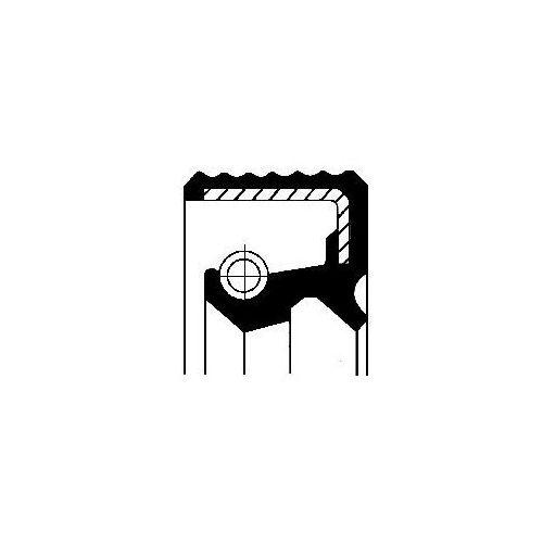 Corteco Pierścień uszczelniający wału, piasta koła  12016937b (3358960439628)