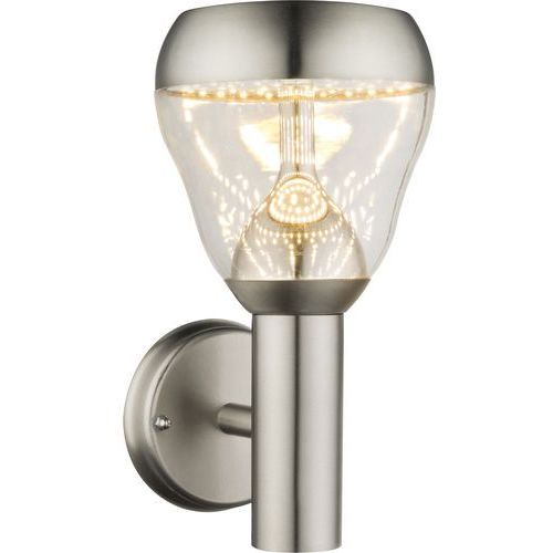 Kinkiet lampa oprawa ścienna zewnętrzna monte 1x8w led chrom 32250 marki Globo