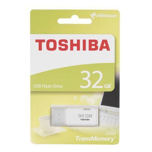 Pendrive 32gb hayabusa u202 usb 2.0 biały retail marki Toshiba