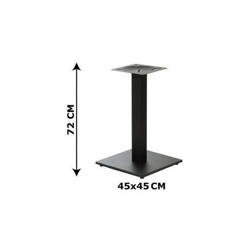 Podstawa stolika SH-2011-2/B, (stelaż stolika), kolor czarny, SH-2011-2/B