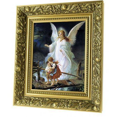 Obraz ceramiczny anioł stróż z dziećmi marki Produkt polski