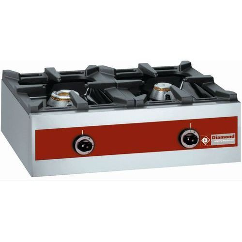 Kuchnia gazowa 2 palnikowa   8700W