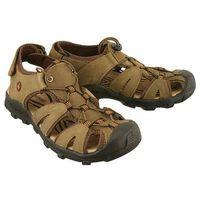 Vemont 9s2084 v brown, sandały męskie - brązowy