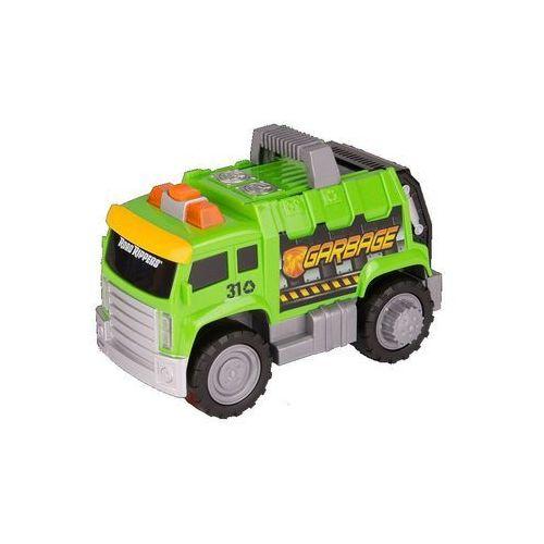 Toy State, Road Rippers Rolin' Sounds, śmieciarka, zielona z kategorii śmieciarki