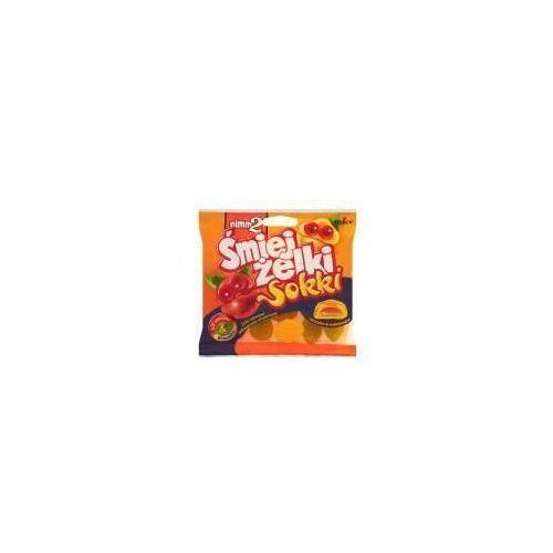 Żelki owocowe nimm2 Śmiejżelki Sokki nadziewane wzbogacone witaminami oraz sokiem owocowym 90 g (4014400917062)