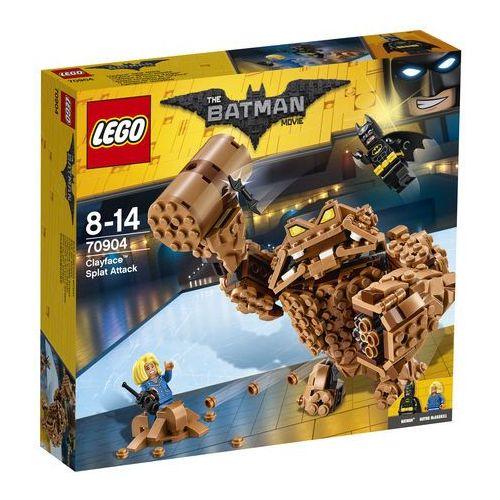 Lego THE MOVIE Batman the , atak clayface'a 70904