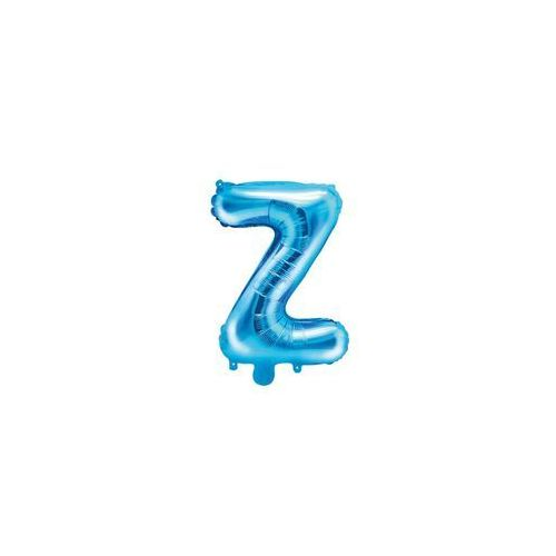 """Balon foliowy litera """"Z"""" niebieska - 35 cm, BFOLL/9808-9"""