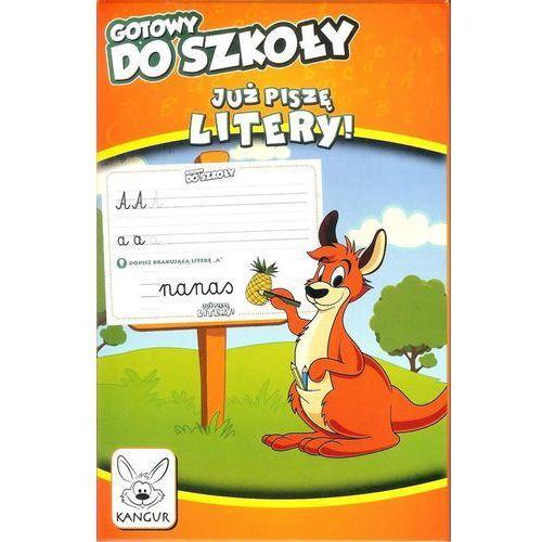 Kangur Gotowy do szkoły już piszę litery (5902768471182)