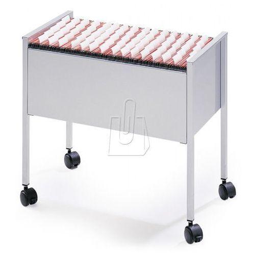 Durable Wózek na teczki zawieszane  economy trolley 80 folio 3096-10 szary (8710968099412)