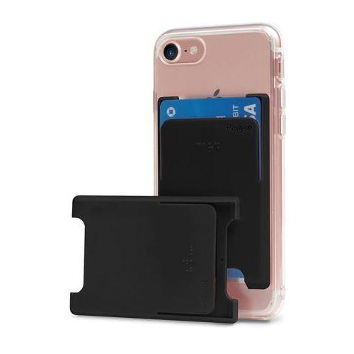 Ringke slot card case etui na karty dokumenty przyklejane do telefonu czarny (acsc0001) (8809550341890)