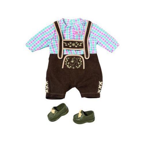 Zapf creation baby born® - ludowa strój bawarski/austriacki dla lalki chłopca (4001167822869)
