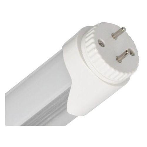 ŚWIETLÓWKA LED 120 CM T8 20W 6400K BARWA ZIMNA jednostronnie zasilana plastic