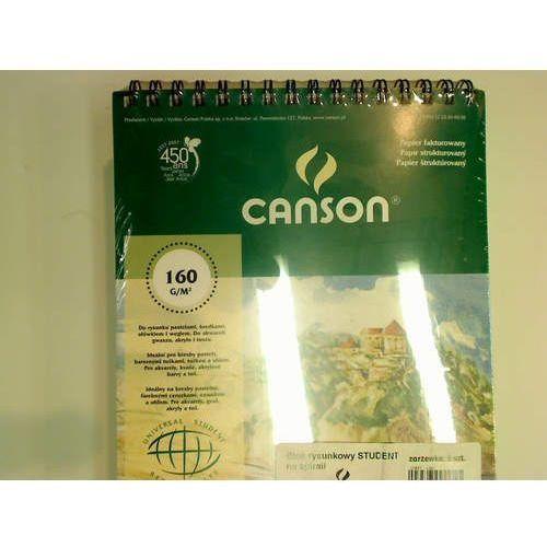 Canson Blok rysunkowy a4 biały 50 160g (6666-182) (5906485191682)
