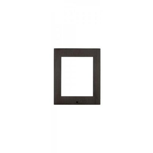 2N IP VERSO płyta czołowa do montażu natynkowego dla 1 modułu czarna, 9155021B
