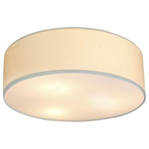 Plafon LAMPA sufitowa KIOTO 31-64691 Candellux okrągła OPRAWA abażurowa kremowa, kolor Kremowy