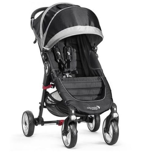 Baby jogger Wózek  city mini single 4w black/gray + darmowy transport! (0745146104105)