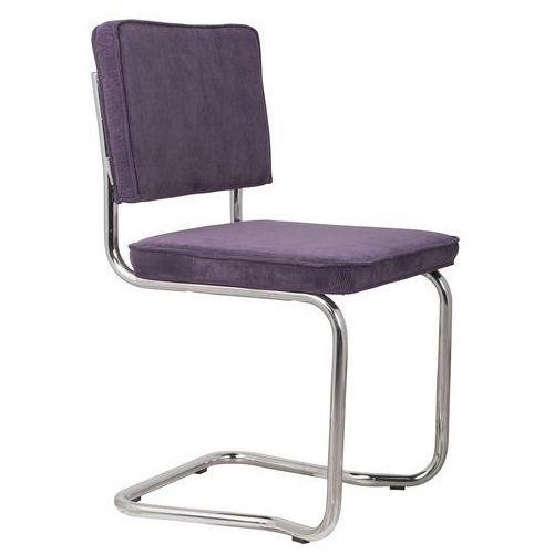 krzesło ridge kink rib purpurowe 15a 1100062 marki Zuiver