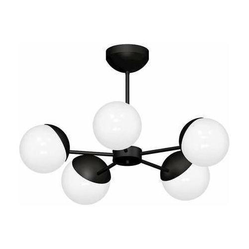 Lampa wisząca sphere 8866 lampa sufitowa żyrandol 5x60w e27 czarna marki Luminex