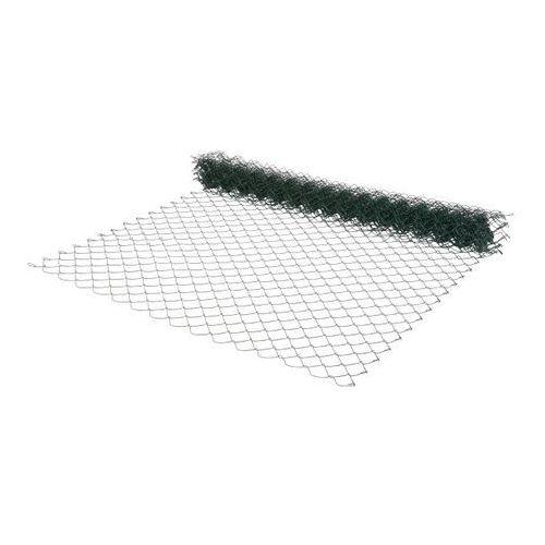 Opp Siatka ogrodzeniowa pleciona 1 5 x 10 m oczko 60 x 60 mm zielona