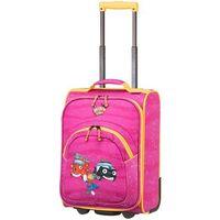 bohaterowie miasta walizka mała kabinowa dla dzieci 18/43 cm / różowa - pink marki Travelite