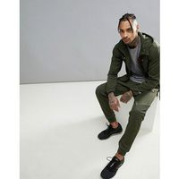 ellesse Sport Jogger With Ribbing Detail In Olive - Green, w 4 rozmiarach