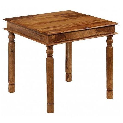 Producent: elior Kolonialny kwadratowy stół cubus 2s - palisander