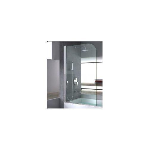 TOPAZ Parawan nawannowy 1 skrzydłowy 80x140cm, szkło transparentne, REA-W0088