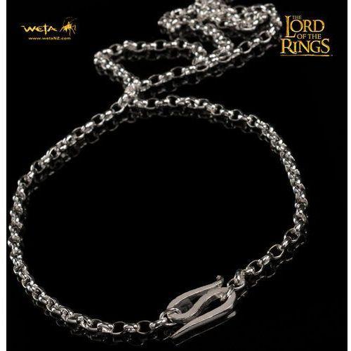 LOTR One Ring - srebrny łańcuszek Froda (WETAFC), kolor szary