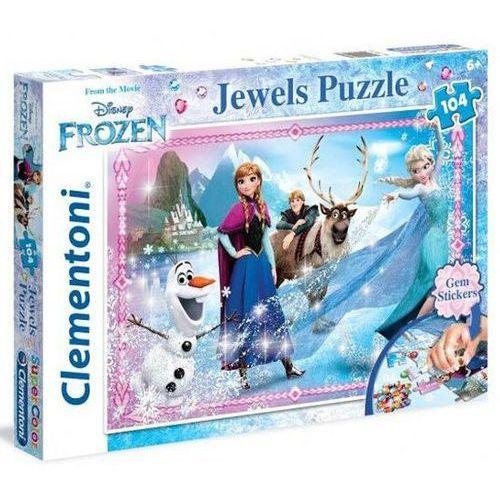 Kraina Lodu Puzzle 104