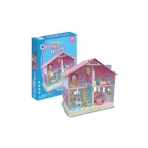 Cubicfun Puzzle 3d carries home domek dla lalek (6944588206796)
