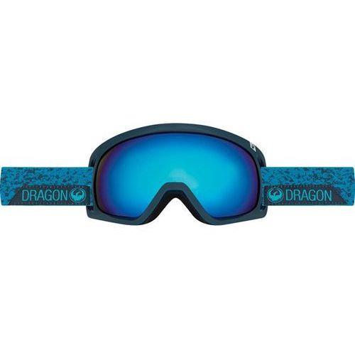 Dragon Gogle snowboardowe  - d3 - stone blue/dark smoke blue (672) rozmiar: os