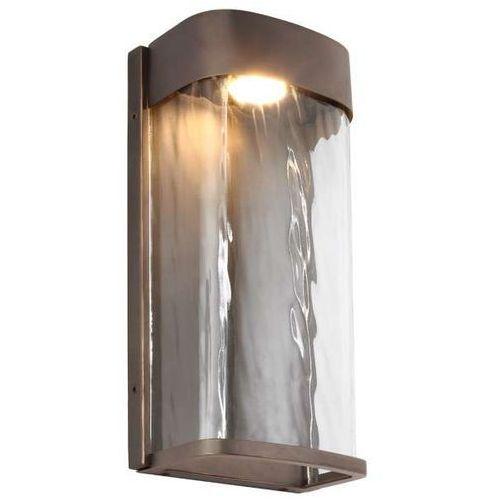Zewnętrzna LAMPA ścienna BENNIE FE/BENNIE/L ANBZ Elstead FEISS elewacyjna OPRAWA do ogrodu LED 14W kinkiet IP44 brąz (5024005321316)
