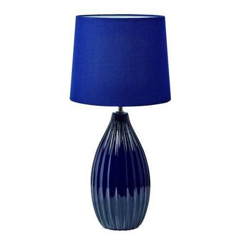 Lampa stołowa Stephanie E27 1 x 60 W niebieska, 107109