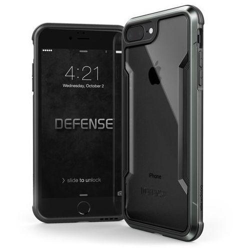 X-doria defense shield - etui aluminiowe iphone 8 plus / 7 plus (black)