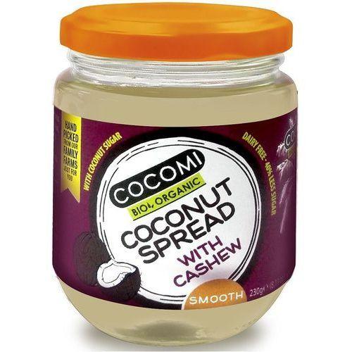 Cocomi (wody kokosowe, oleje kokosowe, śmietanki) Krem kokosowy z orzechami nerkowca bio 230 g - cocomi