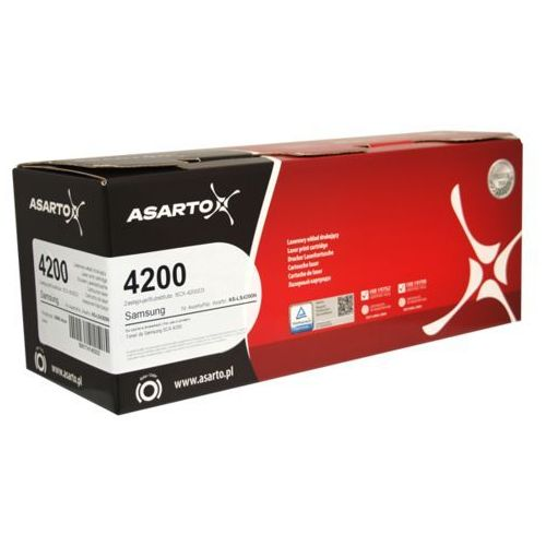 Toner Asarto zamiennik do Samsung I 4200D3 I 3000str. I SCX 4200 | black