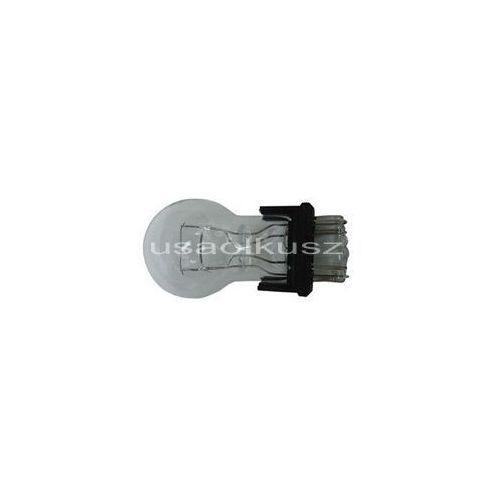 Biała dwuwłóknowa żarówka 3157 12v p27/7w - trzonek w2,5x16q marki Rozni