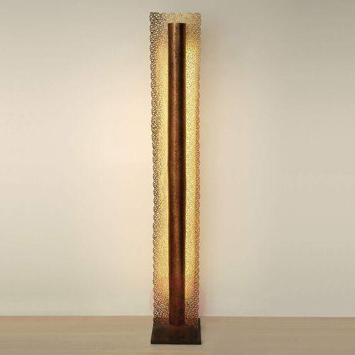 Holländer utopistico lampa stojąca brązowy, złoty, 1-punktowy - nowoczesny - obszar wewnętrzny - utopistico - czas dostawy: od 8-12 dni roboczych