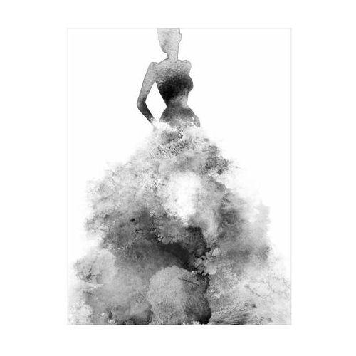 Art canvas Plakat baletnica akwarela 30 x 40 cm (5901844212022)