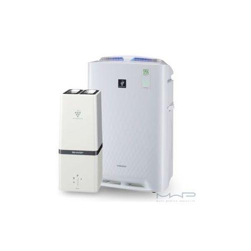 Inteligentny oczyszczacz powietrza z funkcją nawilżania + generator plasmacluster hd marki Sharp