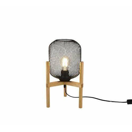 Trio rl calimero r50561032 lampa stołowa lampka 1x40w e27 czarna