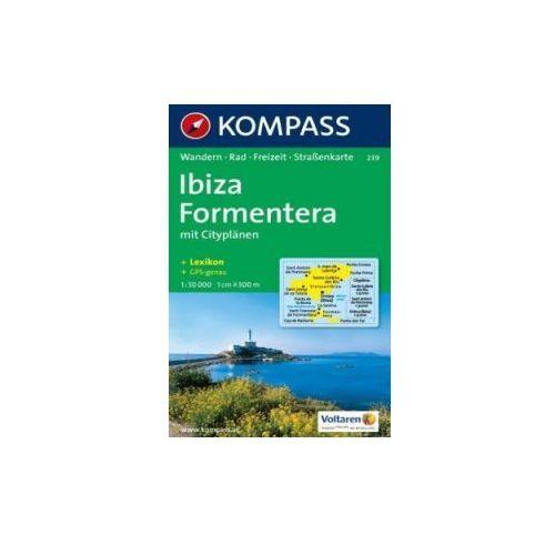 Ibiza Fromentera, 1:50 000